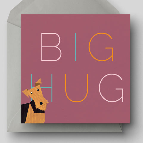 Big Hug Greetings Card