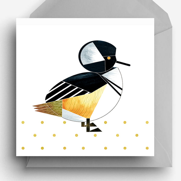 Hooded Merganser Duck Greetings Card
