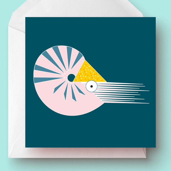 Nautilus Greetings Card