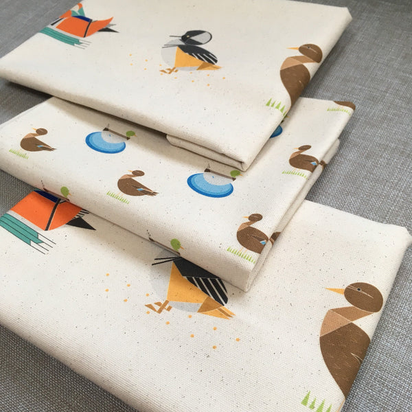 Dabbling Ducks Organic Cotton Tea Towel