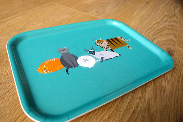 Cat Characters Tray (Small)