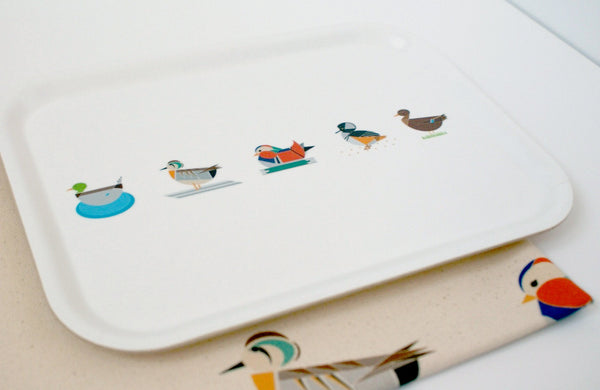 Dabbling Ducks Tray (Small)