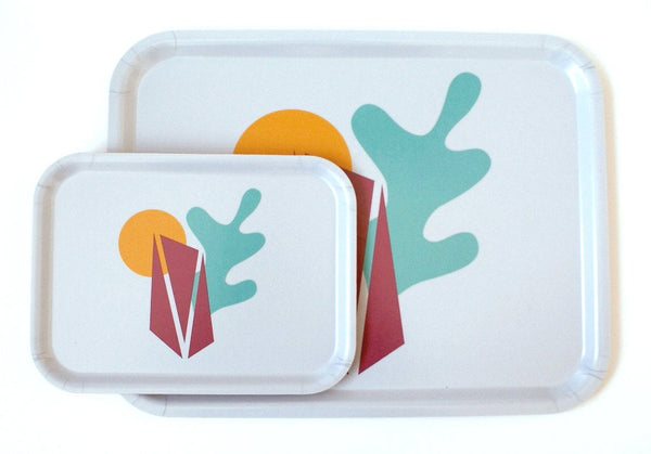 Aland Abstract Tray (Small)