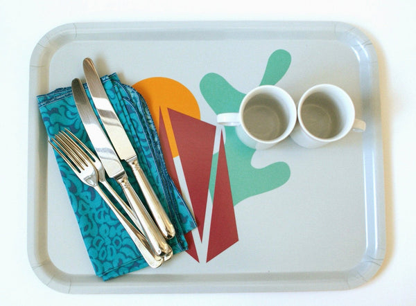 Large Aland tray, handmade from sustainable wood