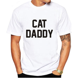 Cat Daddy Black T-Shirt