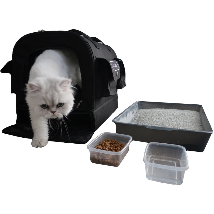 All-In-One Cat Carrier/ Emergency Kit