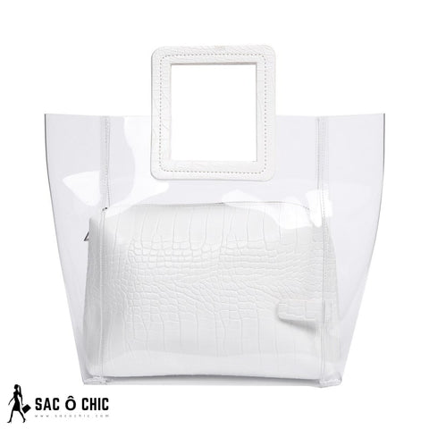 Sac Transparent Blanc
