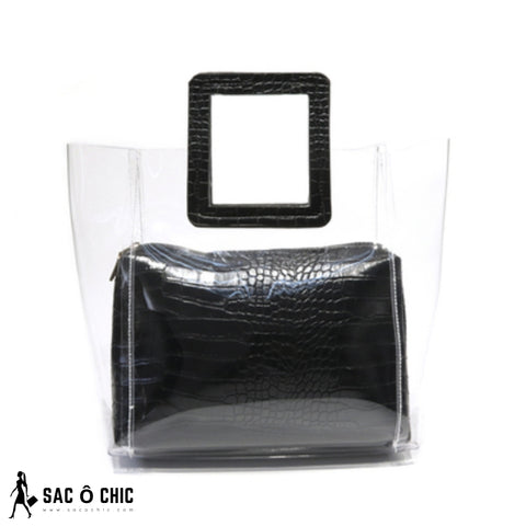 Sac Transparent Noir