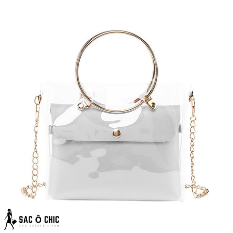 Sac a Main Semi Transparent