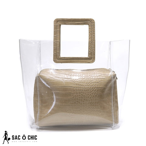 Sac Transparent Luxe