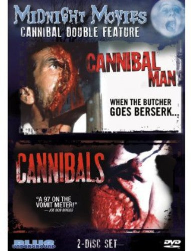Cannibal Man/ Cannibals USED DVD