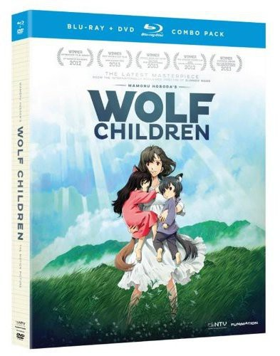 Wolf Children Blu-ray/DVD combo