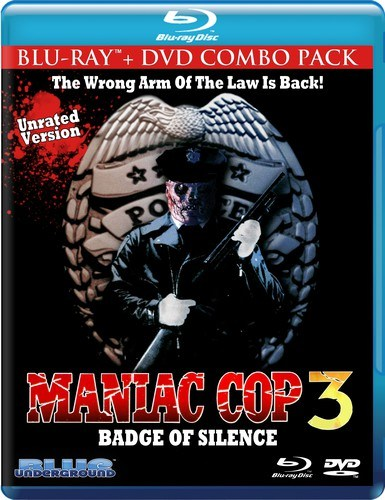 Maniac Cop 3 Badge of Silence w/SLIP