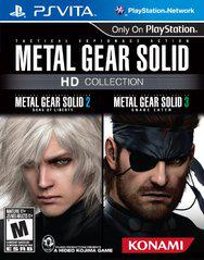 Metal Gear Solid HD Collection Playstation Vita
