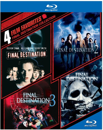 4 Film Favorites Final Destination Collection USED