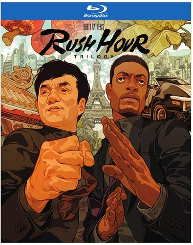 Rush Hour Trilogy w/SLIP USED