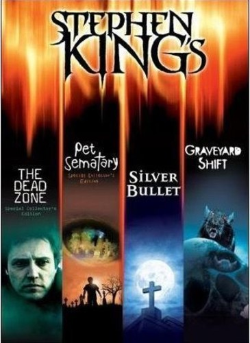 Stephen King's 4 Movie Collection USED DVD