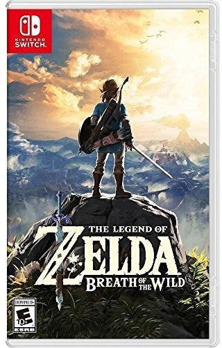 The Legend of Zelda Breath of the Wild Nintendo Switch NEW