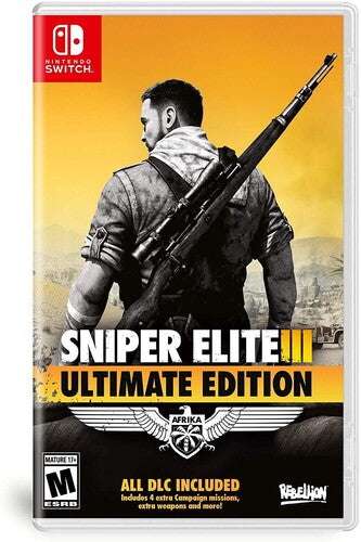 Sniper Elite 3 (Ultimate Edition) Nintendo Switch USED