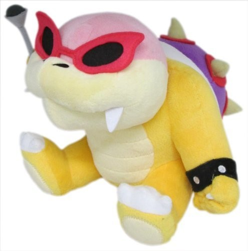 "Little Buddy Super Mario Bros. Roy Koopa 6"" Plush"