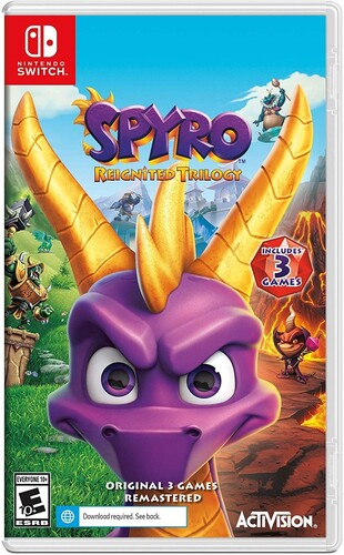 Spyro Reignited Trilogy Nintendo Switch NEW