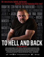 To Hell and Back the Kane Hodder Story USED