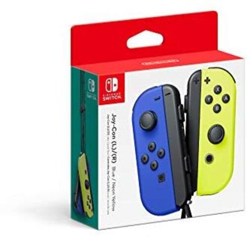 Nintendo Switch Joy-Con Neon Blue and Neon Yellow