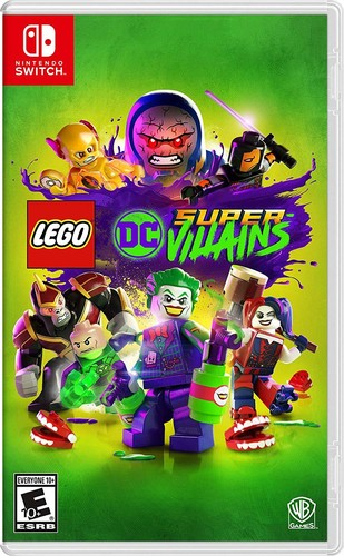 Lego DC Super Villains Nintendo Switch USED