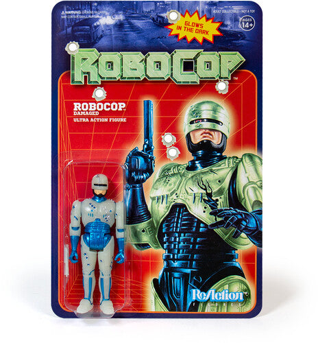 Super7 Robocop Battle Damaged GITD