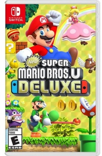 NEW Super Mario Bros U Deluxe Nintendo Switch NEW