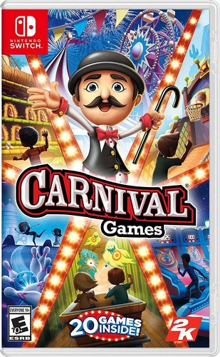 Carnival Games Nintendo Switch USED