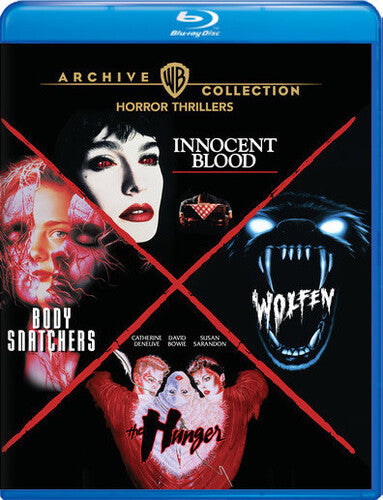 4 Film Coll. Innocent Blood/The Hunger/Wolfen/Body Snatchers