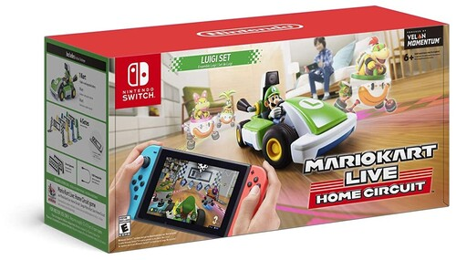 Mario Kart Live Home Circuit LUIGI SET Nintendo Switch NEW LOCAL PICKUP ONLY