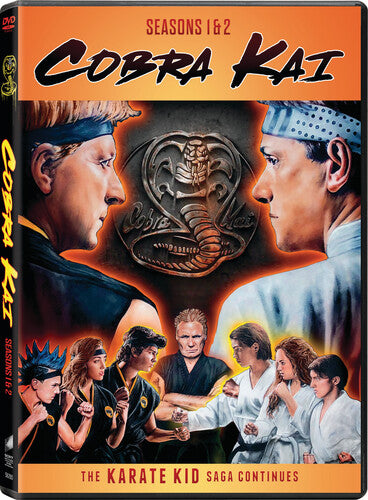 Cobra Kai: Seasons 1 & 2 DVD