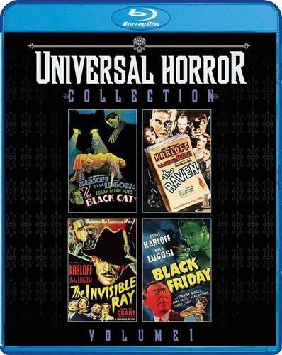 Universal Horror Collection Volume 1