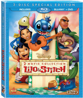 Lilo & Stitch 2 Movie Collection USED BLU-RAY/DVD