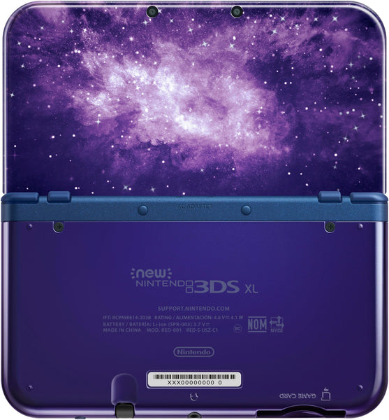 Nintendo New 3DS XL Console Galaxy
