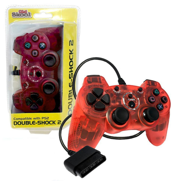Playstation 2 Double Shock Controller Red