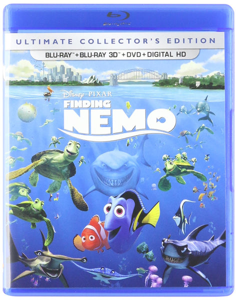 Finding Nemo 3D Combo USED