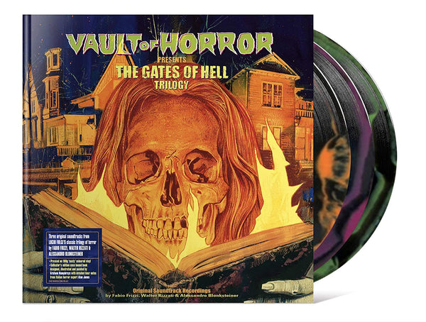 Vault of Horror Presents the Gates of Hell Trilogy Vinyl