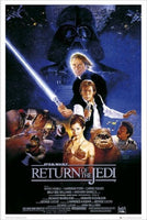 Return of the Jedi B Style Poster