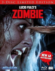 Zombie (4K Transfer) COVER B Splinter