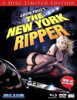 The New York Ripper 3 disc USED w/ SLIP