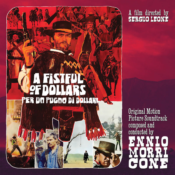 A Fistful of Dollars OST Vinyl RSD