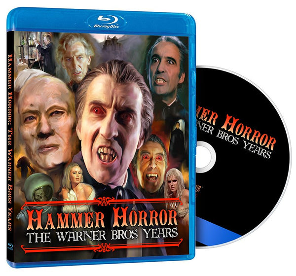 Hammer Horror the Warner Brothers Years REGION B USED