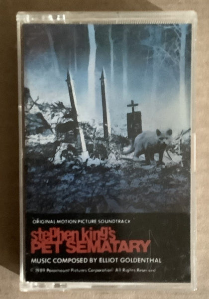 Pet Sematary Cassette Soundtrack USED