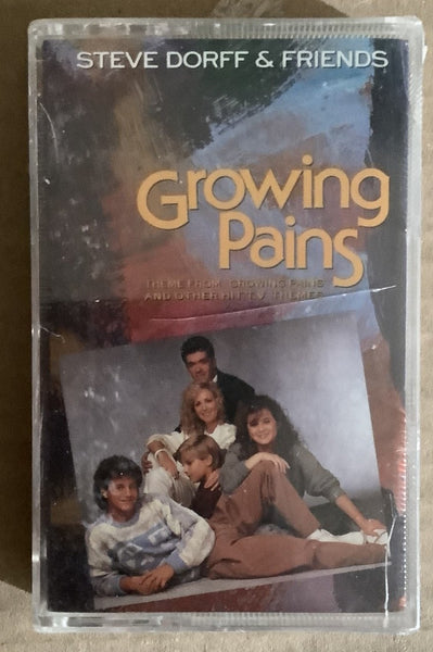 Steve Dorff & Friends Growing Pains Cassette SEALED