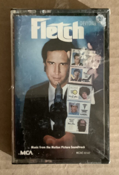 Fletch Cassette Soundtrack SEALED