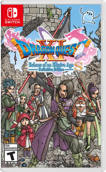 Dragon Quest XI S: Echoes of an Elusive Age Nintendo Switch USED