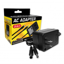 AC Adapter 3 in 1 (NES, SNES, GENESIS 1)